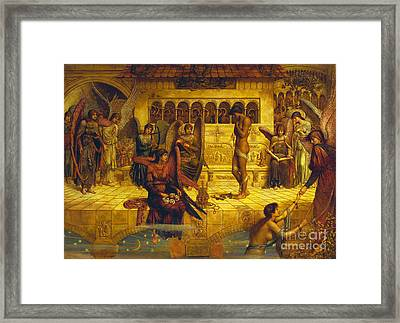 The Ramparts Of God's House Framed Print by John Melhuish Strudwick