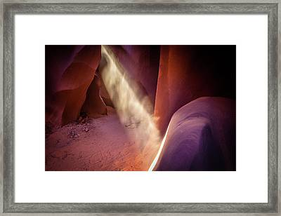 The Ray Of Light Framed Print by Edgars Erglis