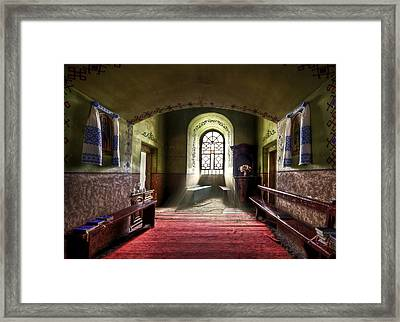 The Reading Room Framed Print by Evelina Kremsdorf