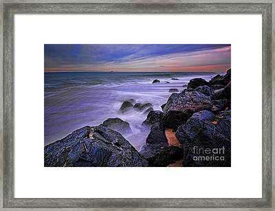The Real Jersey Shore Framed Print by Paul Ward