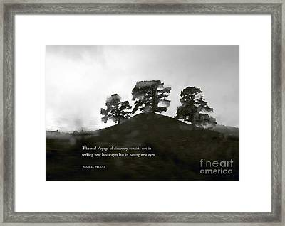 The Real Voyage Of Discovery Framed Print by Karen Lewis