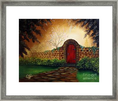 The Red Door Framed Print by David Kacey