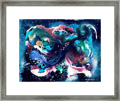 The Red Stars Of Paradise Framed Print by Lee Pantas
