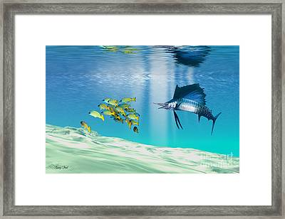 The Reef Framed Print by Corey Ford