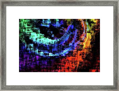 The Reflection In God's Eye Framed Print by Susan Maxwell Schmidt