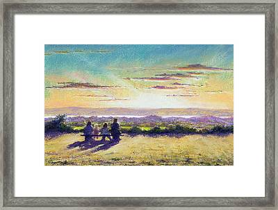 The Remains Of The Day Framed Print by Anthony Rule