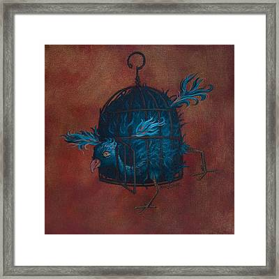 The Restrictive Nature Of Fashion  Framed Print by Kelly Jade King