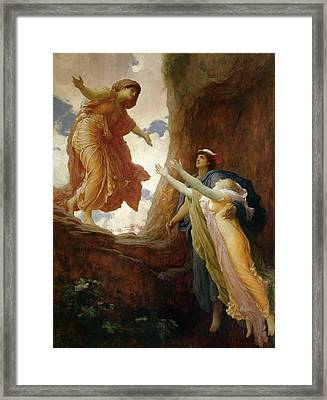 The Return Of Persephone Framed Print by Frederic Leighton