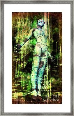 The Revelations Of Glaaki Framed Print by Luca Oleastri