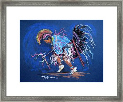 The Ribbon Shirt Framed Print by Tanja Ware