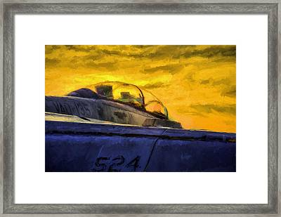 The Rise Of The Growler Framed Print by JC Findley