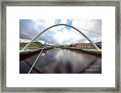The River Tyne Framed Print by Stephen Smith