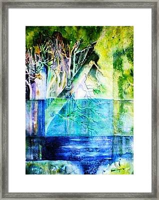 The Rivers Memories  Framed Print by Trudi Doyle