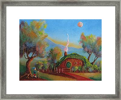 The Road Goes Ever On. Framed Print by Joe  Gilronan