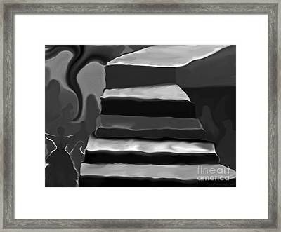 The Road To Despair Framed Print by Patricia Griffin Brett