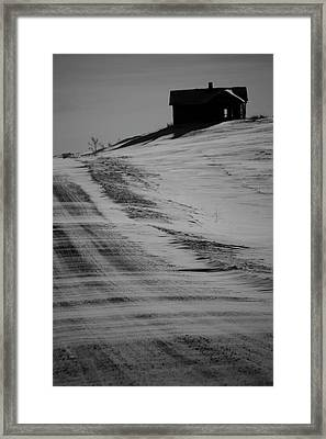 The Road Two Her Framed Print by JC Photography and Art