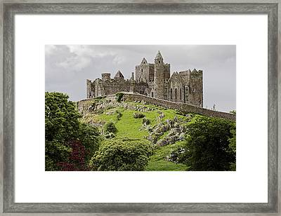The Rock Of Cashel Ireland In Summer Framed Print by Pierre Leclerc Photography