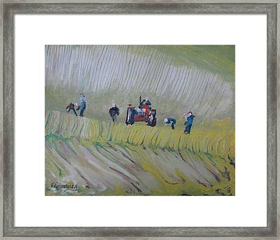 The Rock Pickers No.2 Framed Print by Francois Fournier