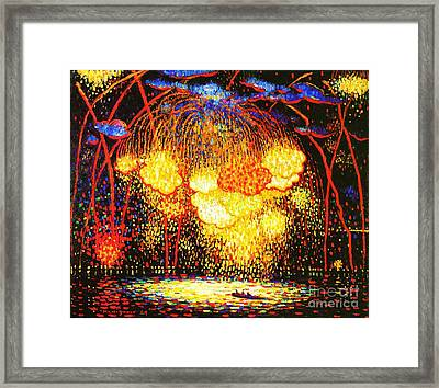 The Rocket Framed Print by Pg Reproductions
