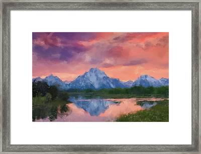The Rockies Framed Print by Gary Grayson