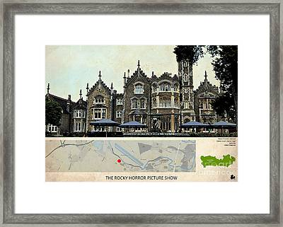 The Rocky Horror Picture Show Film Locations, Maidenhead, Berkshire Framed Print by Pablo Franchi