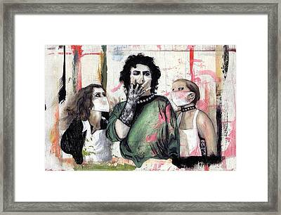 The Rocky Horror Picture Show Framed Print by Rouble Rust