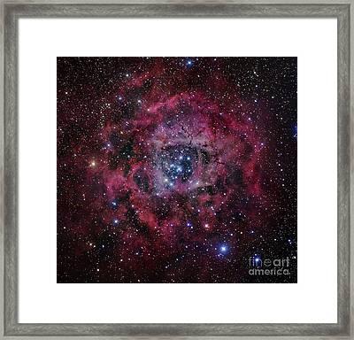 The Rosette Nebula Framed Print by Robert Gendler