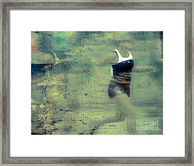 The Running Woman Framed Print by Steven  Digman