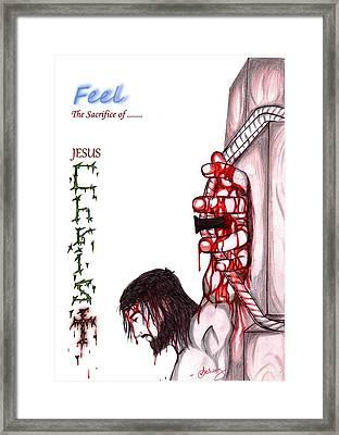 The Sacrifice Framed Print by Abhay Pratap Singh Tomar