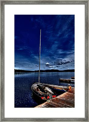 The Sailboat Framed Print by David Patterson