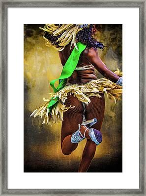 The Samba Dancer Framed Print by Chris Lord