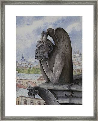 The Same Old Thing Framed Print by Sam Sidders