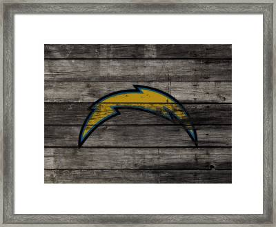 The San Diego Chargers 3e        Framed Print by Brian Reaves