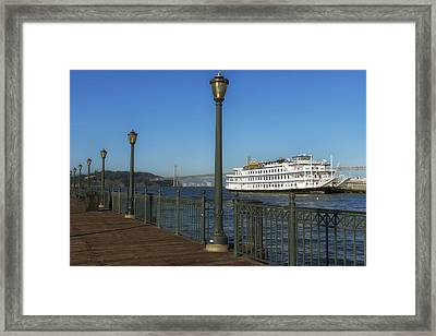 The San Francisco Belle Framed Print by Mountain Dreams