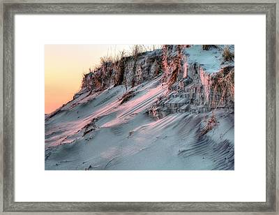 The Sands Of Time Framed Print by JC Findley