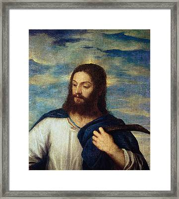 The Savior Framed Print by Titian