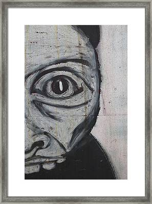 The Scared Me Framed Print by JC Photography and Art
