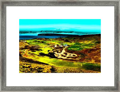 The Scenic Chambers Bay Golf Course Framed Print by David Patterson