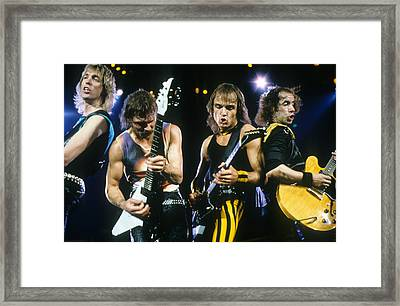 The Scorpions Framed Print by Rich Fuscia