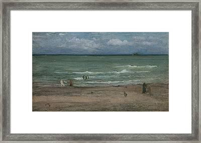 The Sea Framed Print by James Abbott McNeill Whistler