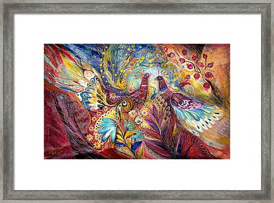 The Sea Wind Framed Print by Elena Kotliarker