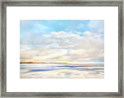 The Seaside Framed Print by Theresa Tahara