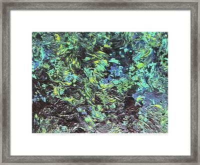 The Secret Garden Framed Print by Margarete M Kedl