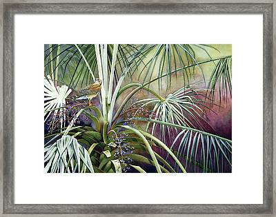 The Sentinel Framed Print by Lyse Anthony