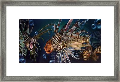 The Sentinels Framed Print by Patrick Anthony Pierson