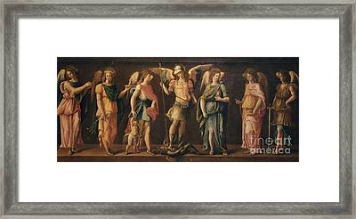 The Seven Archangels Framed Print by Archangelus Gallery