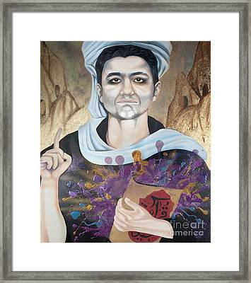 The Seven Deadly Sins - Wrath Framed Print by James Perez