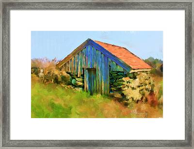 The Shack Framed Print by Michael Greenaway