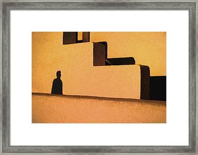 The Shadow Framed Print by Paul Wear