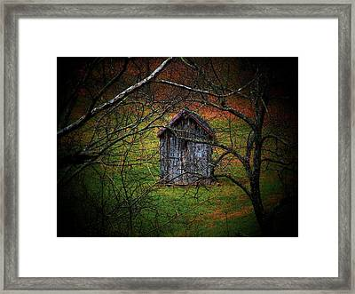 The Shed Framed Print by Michael L Kimble